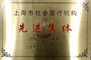 2017-2019上海市社会医疗机构先进集体