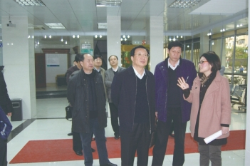 2008年,河南省计生委领导莅临我院参观交流