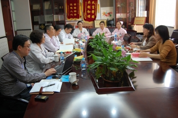 2014年5月,上海卫计委领导莅临我院指导工作
