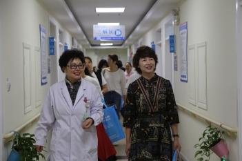 2018年8月,上海市金山区卫计委领导莅临我院调研