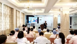 讲礼制 重服务 塑形象——计生所医院举办全院职工礼仪培训沙龙活动